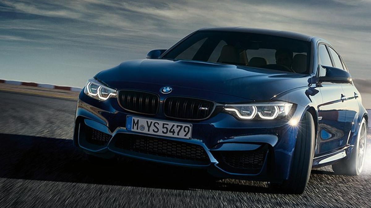 Новый седан BMW модели M3