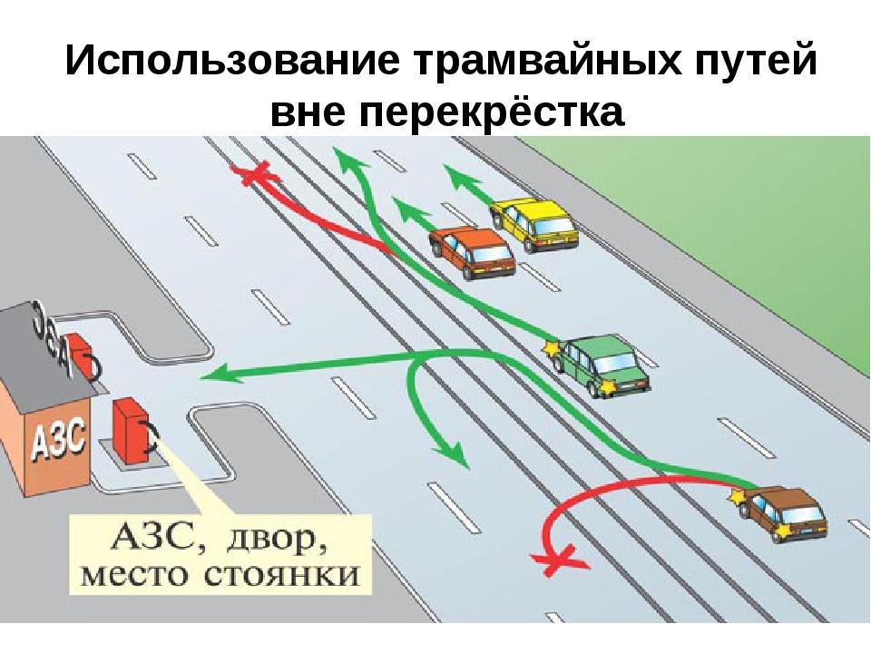 ШКОЛА ВОЖДЕНИЯ: разворот через трамвайные пути