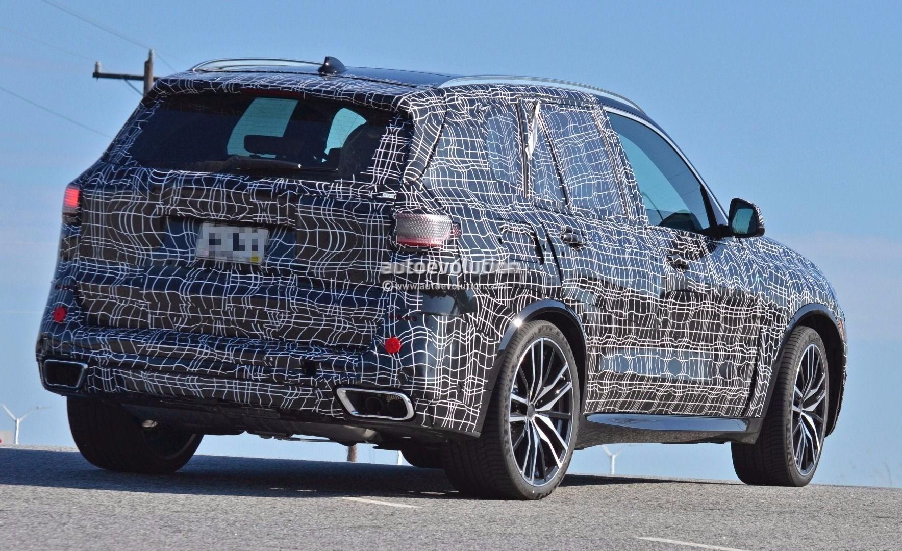 Стартовали «зимние» испытания нового внедорожника BMW X5 M 2019