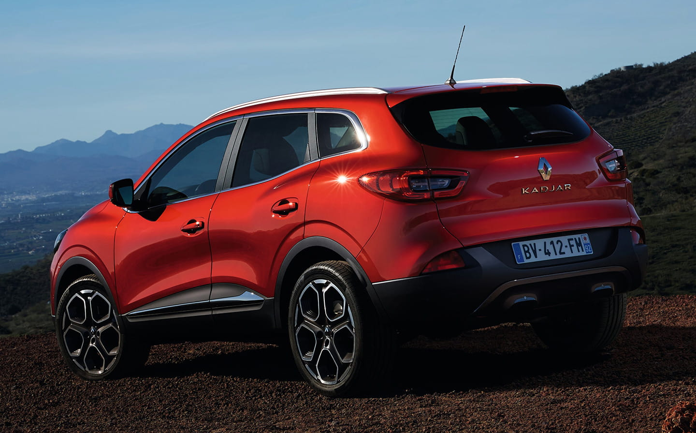 Renault Kadjar получает новый 1,6-литровый турбонаддув