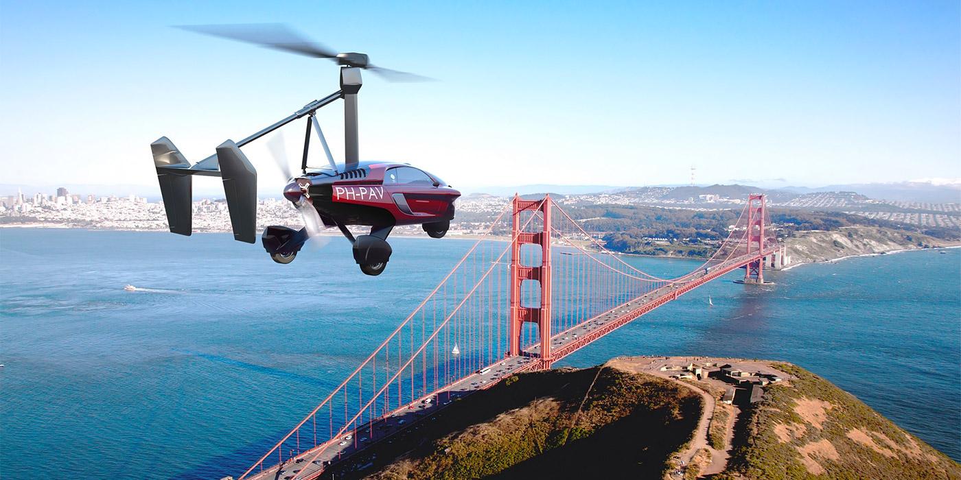 В Женеве дебютирует первый в мире летающий автомобиль